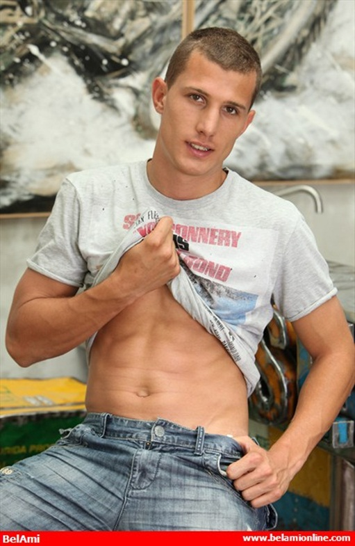 Hot new twink Denis Carter at Belami!