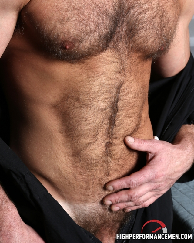 Hairy-muscle-body-Dirk-Willis-strokes-huge-cock-High-Performance-Men-02-photo