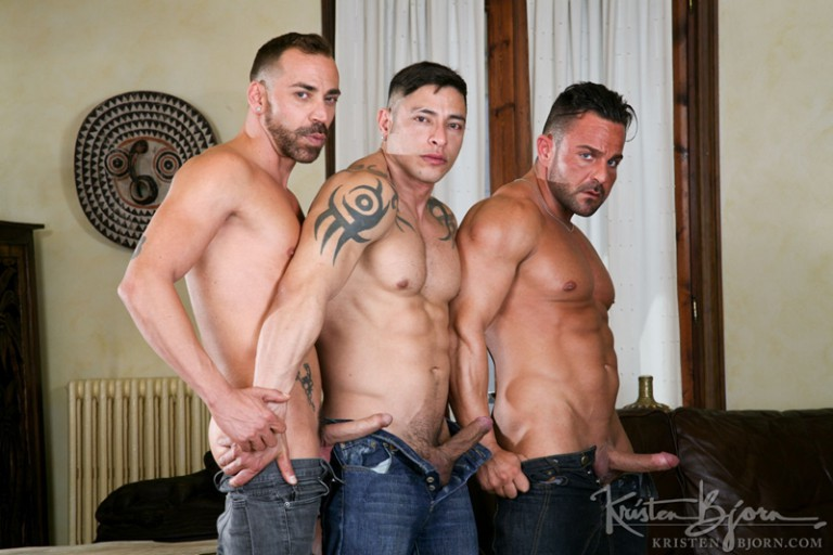 Julio Rey, Alex Brando and Mario Torres