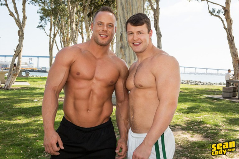 Sean Cody Jack and Samuel bareback raw big cock ass fucking