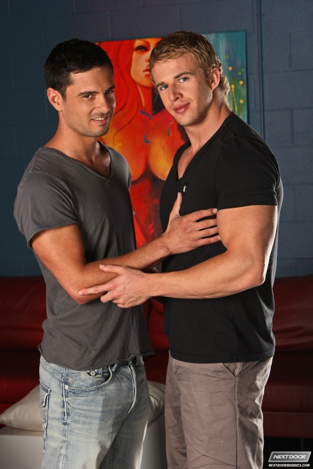 Donny Wright and Cameron Foster at Next Door Buddies