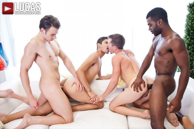 Addison Graham, Taye Knight, Andrew Markus and Shawn Andrews