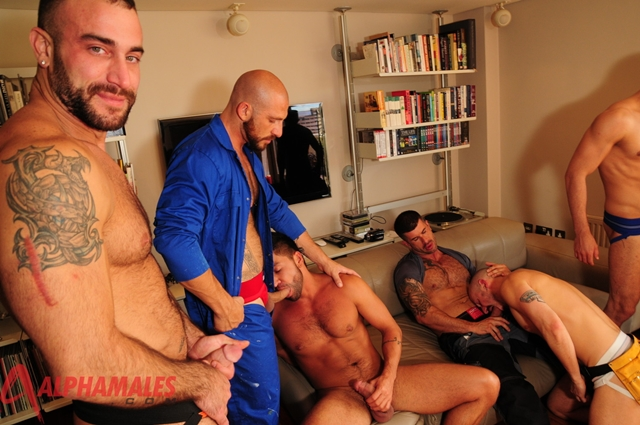 Dick sucking ass rimming orgy with Adam Killian, Spencer Reed, Valentin Alsina, Dominic Pacifico, Aitor Crash, Damian Boss and Billy Baval