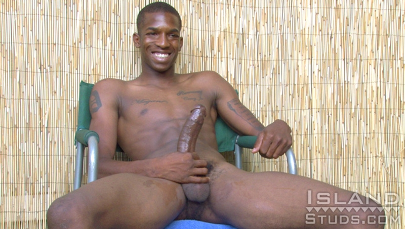 Solo Big Black Dick Jerk Off