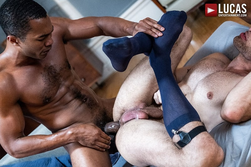 Men for Men Blog Sean-Xavier-Lucas-Leon-Jeffrey-Lloyd-Interracial-anal-fuck-suck-fest-big-cock-LucasEntertainment-025-gay-porn-pictures-gallery Interracial anal fuck and suck fest Sean Xavier and Lucas Leon persuade Jeffrey Lloyd to get his big beautiful cock out Lucas Entertainment