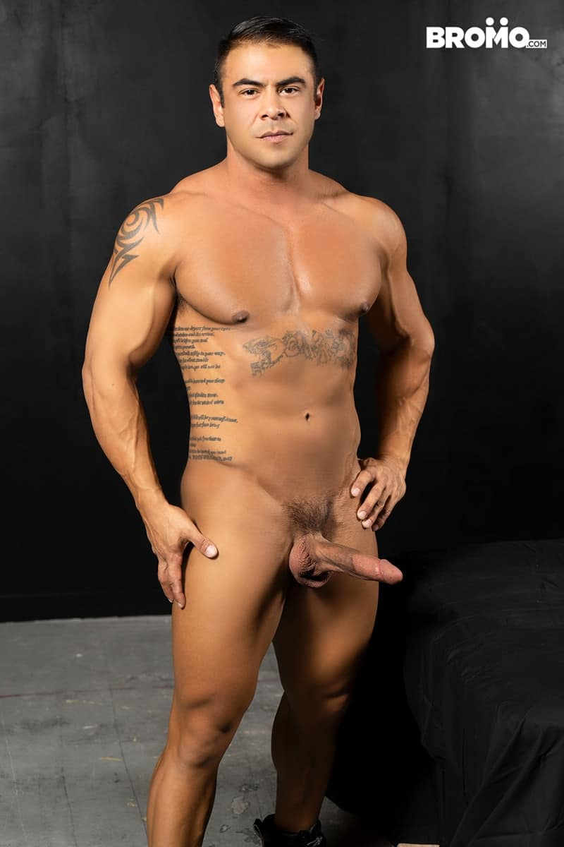 Men for Men Blog Gay-Porn-Pics-004-Jason-Collins-Draven-Navarro-Tattooed-muscle-beef-nipples-worship-hard-body-Bromo Tattooed and beefy Jason Collins loves playing with buff Draven Navarro's nipples and worshipping his hard body Bromo