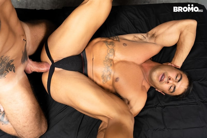Men for Men Blog Gay-Porn-Pics-016-Jason-Collins-Draven-Navarro-Tattooed-muscle-beef-nipples-worship-hard-body-Bromo Tattooed and beefy Jason Collins loves playing with buff Draven Navarro's nipples and worshipping his hard body Bromo
