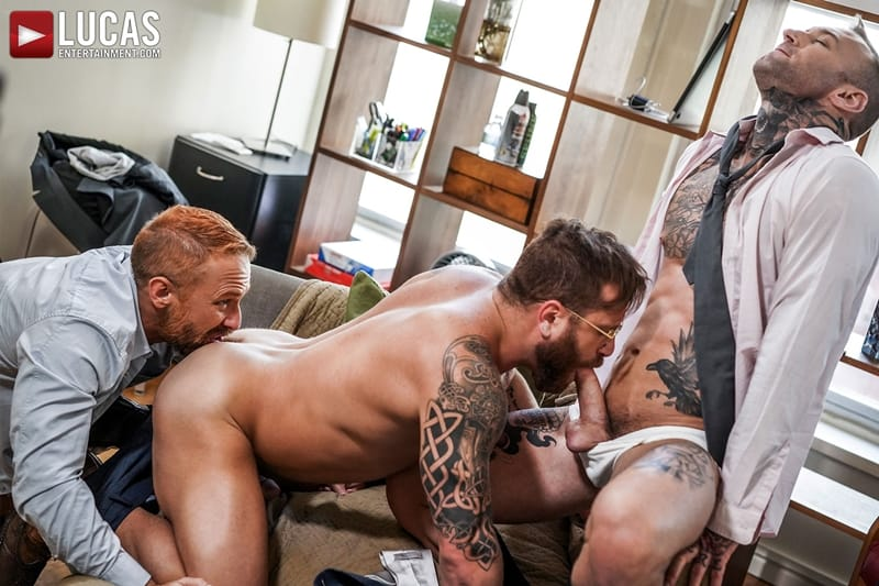 Riley-Mitchel-services-his-bosses-Dylan-James-and-Dirk-Caber-LucasEntertainment-002-Gay-Porn-Pics