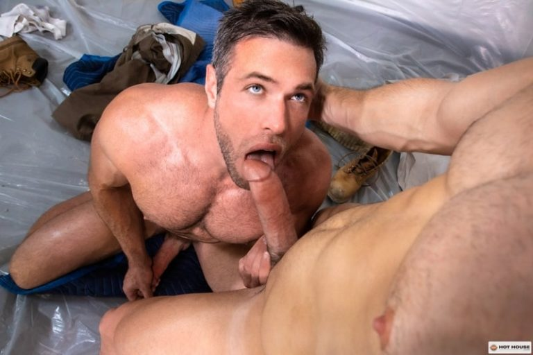 Devin Franco's tight raw hole is ready to be bareback fucked by Alex Mecum's huge bare dick