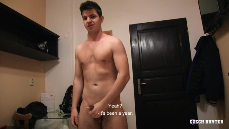 Czech Hunter 516 – young straight Czech dudes go gay for pay